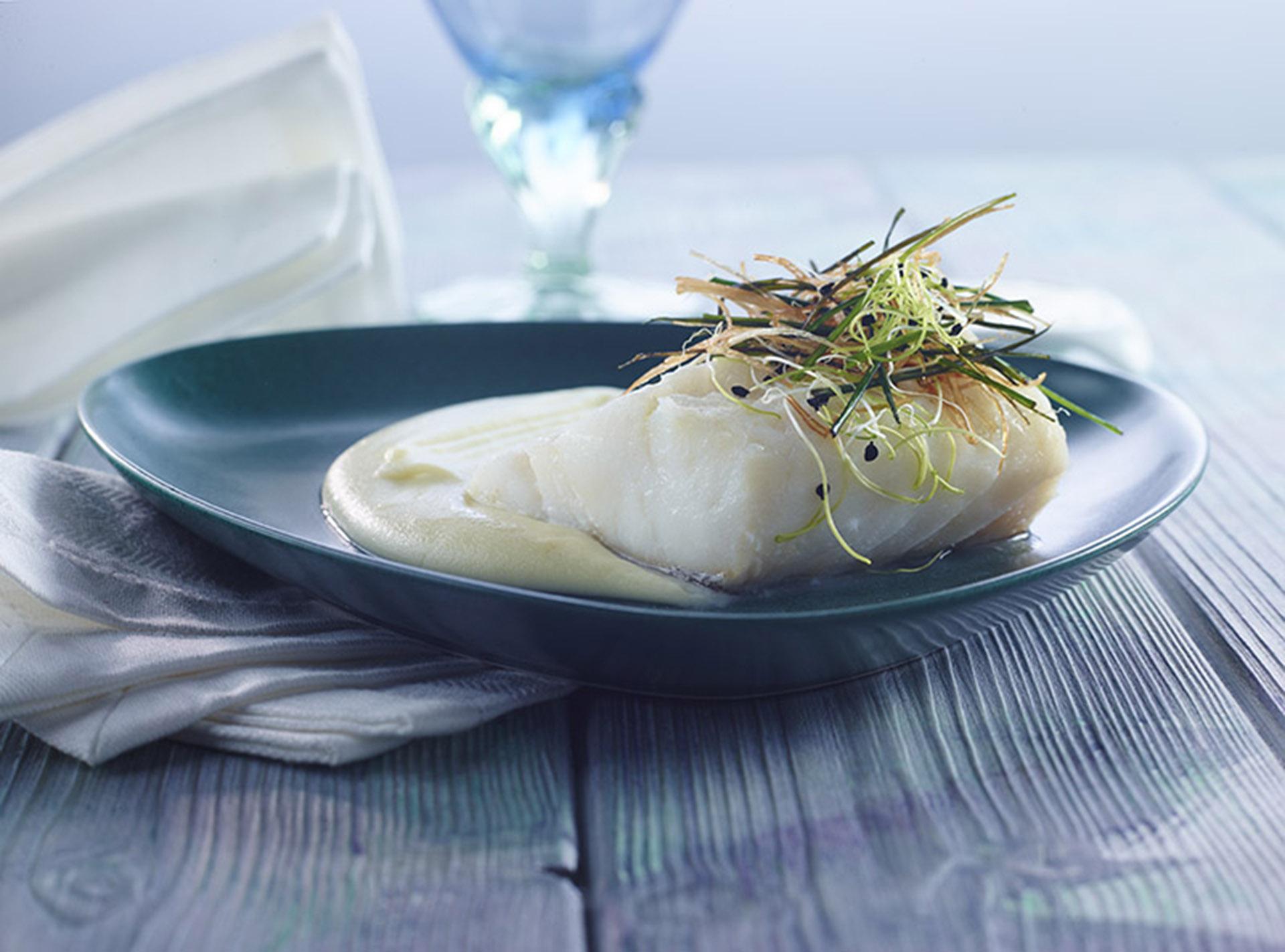 Bacalao aguinamar - Cocinar bacalao desalado ...